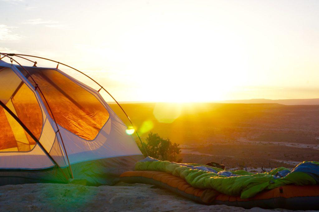 camping sac de couchage bikepacking