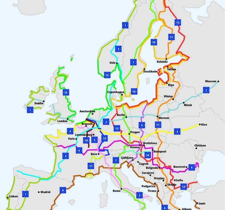 Voyager en Europe grâce à EuroVelo