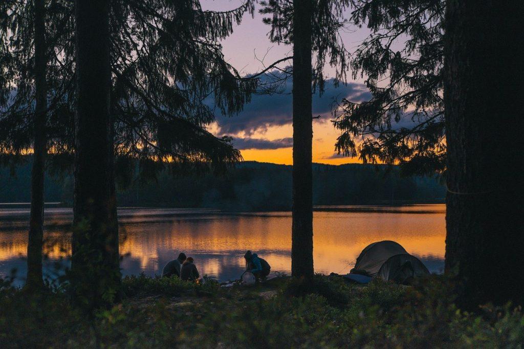 bivouac lac