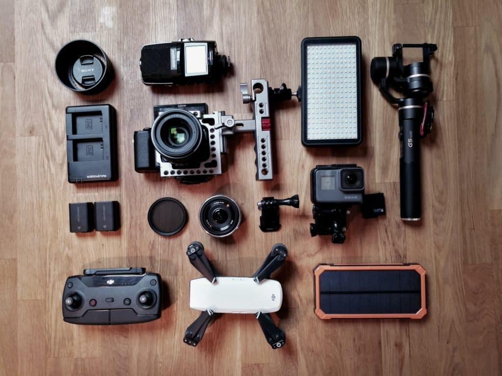 charger appareils électroniques bikepacking