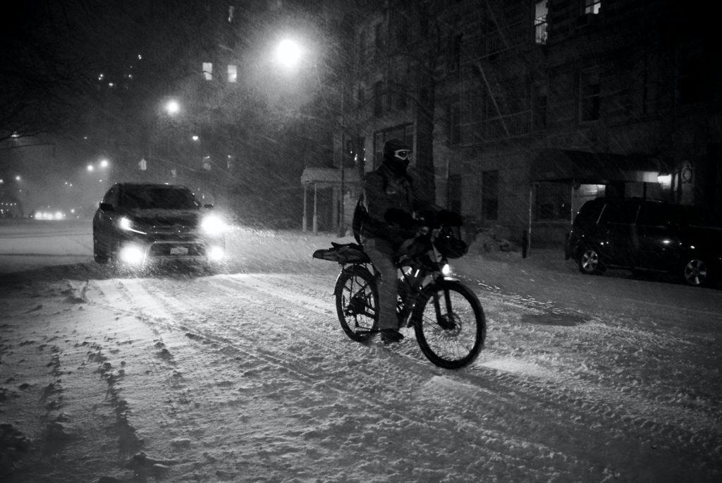éclairage vélo avant