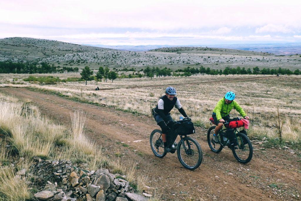 bikepacking en hiver